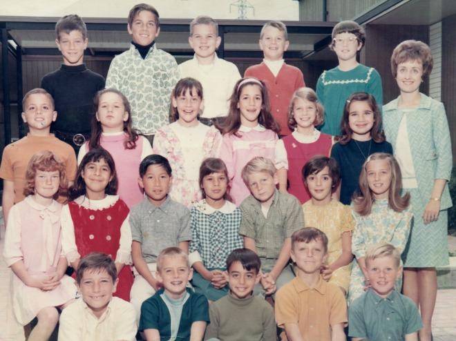 Millbrae Elementary School, 1968