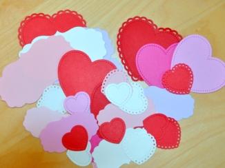 valentine lawn fawn hearts die cut