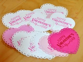 valentine stamped