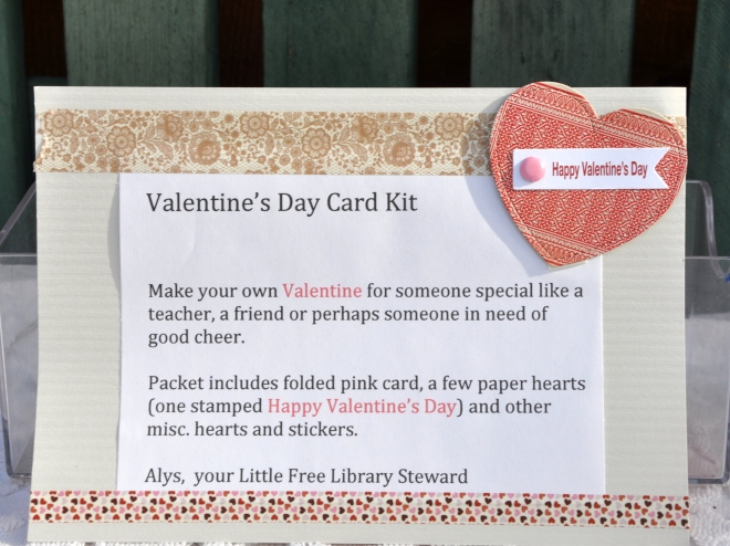 Valentine's Day Card kit