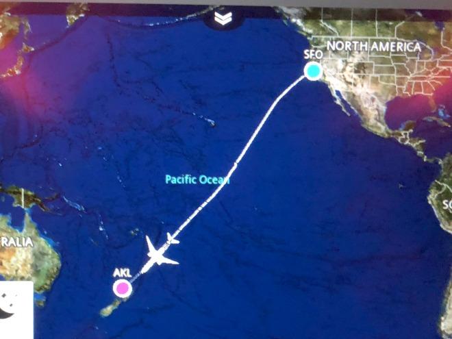 Pacific Ocean satellite map