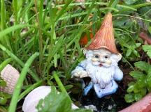 Miniature garden gnome