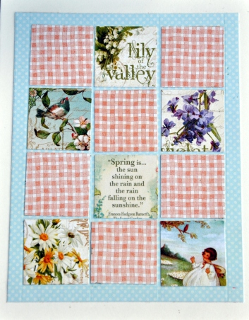ScrapHappy Quilting card detail