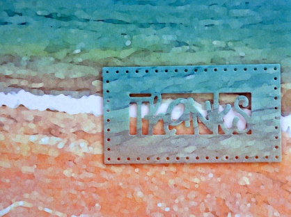 ScrapHappy card closeup