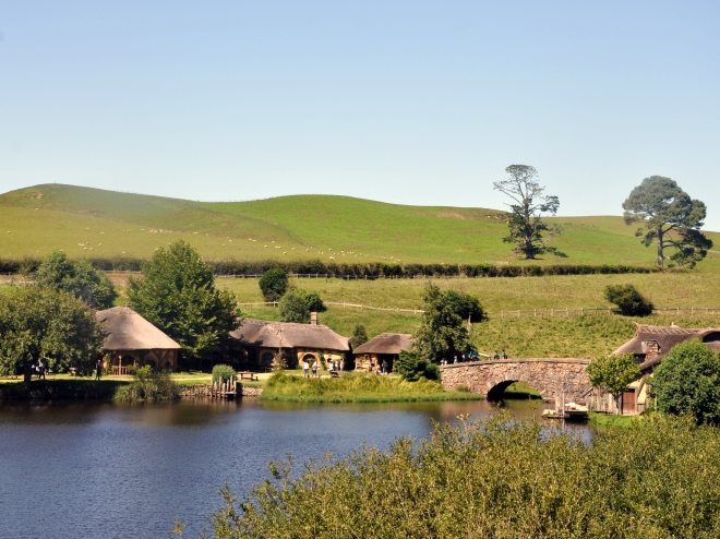 Hobbiton movie set and Alexander farm