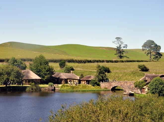 Hobbiton movie set and Alexander farm