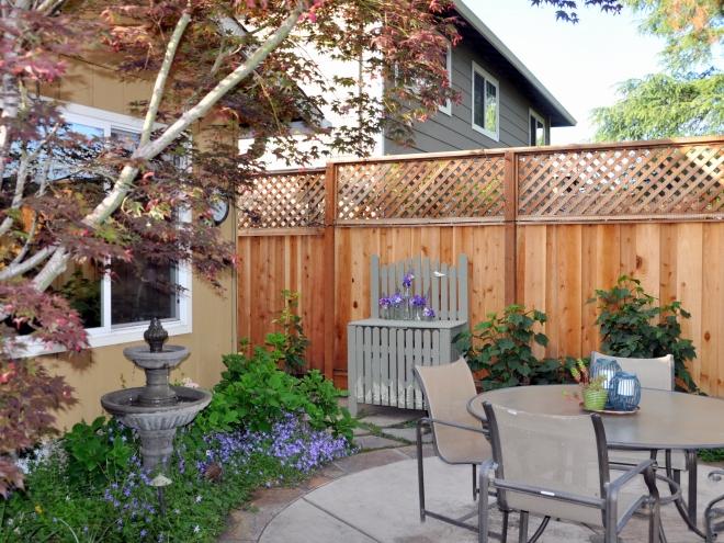 garden near side yard