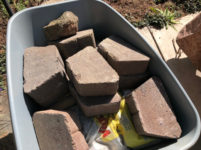 Home Depot garden paving stones