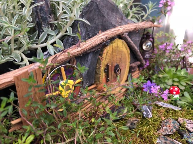 Hobbit hole window