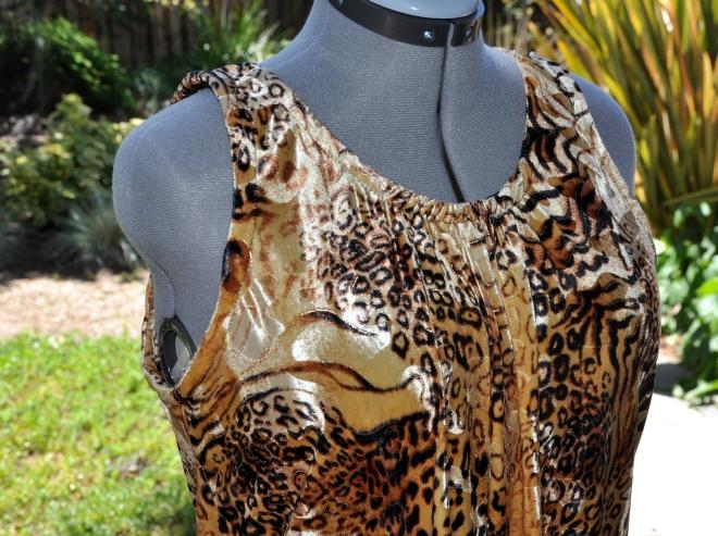 leopard chetah zebra print dress