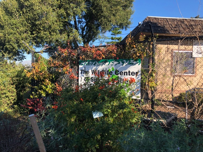 The Wildlife Center of Silicon Valley signage