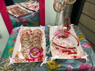 Donated jewelry