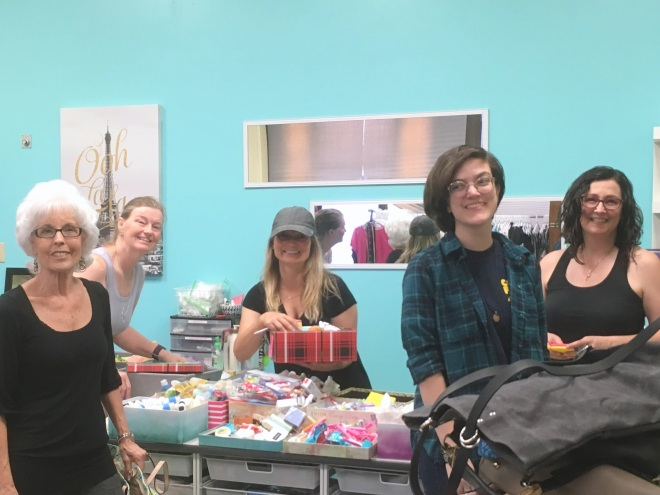 Lifted Spirits drop in center boutique