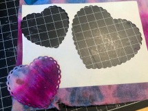 Heart shaped dies