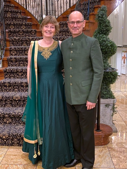 Dressed for Sangeet