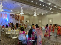 Beautifully decorated hall in Mississagua, Ontario