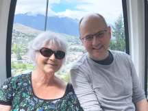 Pauline with my husband, Mike in Queenstown